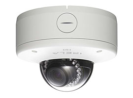 IR and View-DR CMOS 720p dual-stream HD Mini Dome network camera Sony SNC-DH180