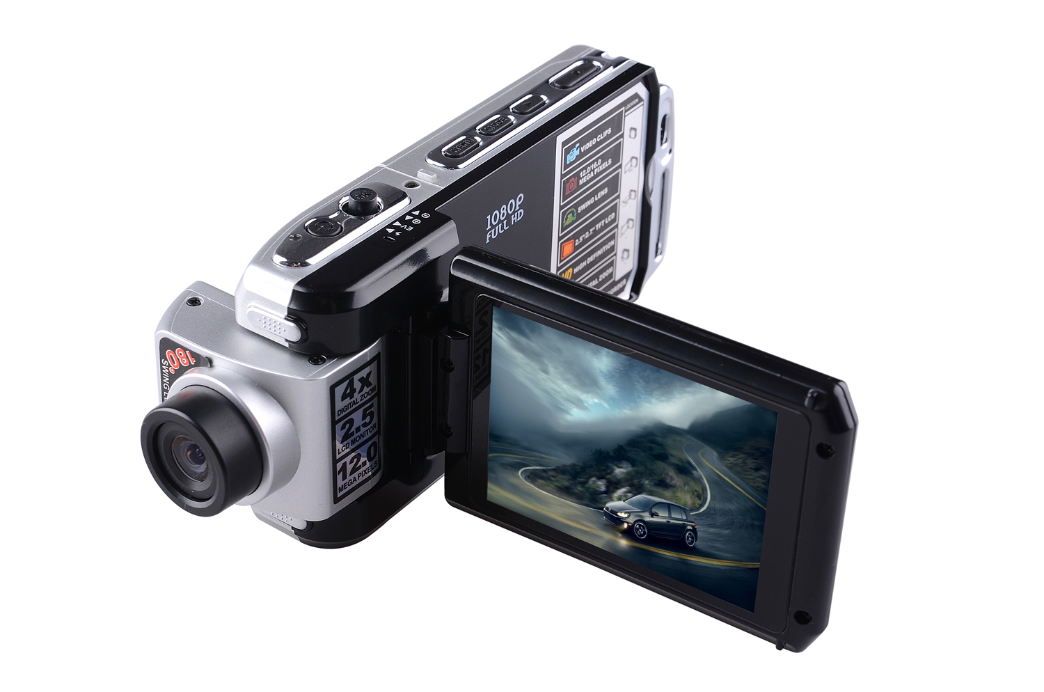 HD 1080P VCR Car Camcorder Sport Driving Camera